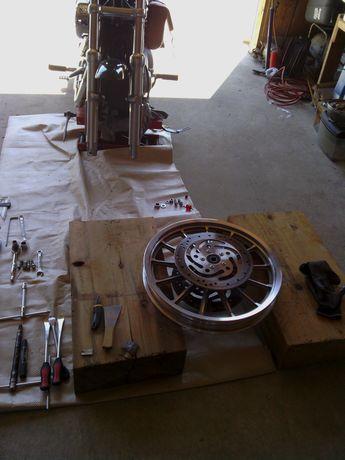 スポ タイヤ交換前輪2