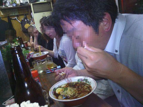 同窓会委員inケンちゃんラーメン201305