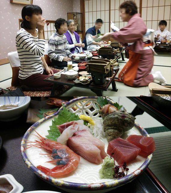 ホテル海望 古希の祝いと誕生会2014
