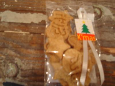 クリスマスクッキーアアップ