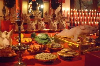 DSCF4392豚の祭壇