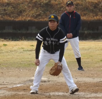 DSCF4410中川三塁手