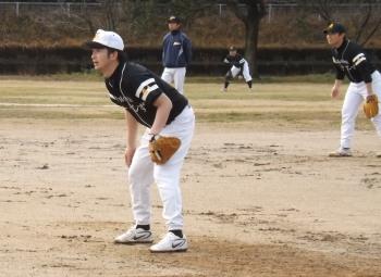 DSCF4413一塁手と二塁手