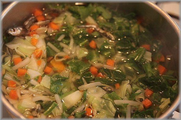 2012.3.29 野菜スープ