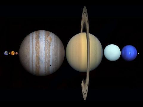 太陽系の星