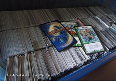 カードゲームのカード整理もっ