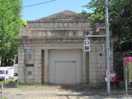 旧京成博物館動物園駅④