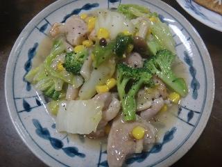塩麹鶏と白菜のうま煮
