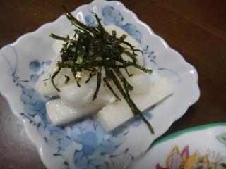 長芋の塩麹あえ0626