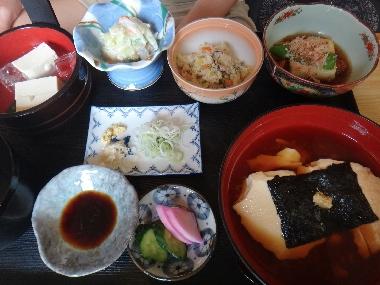 豆腐定食0729