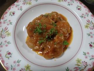 チキンのパプリカ風味煮0826