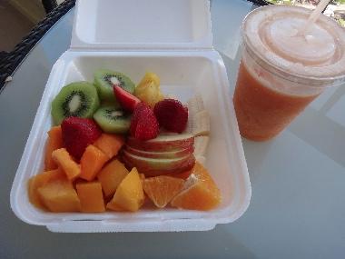 フルーツ、ハイアット