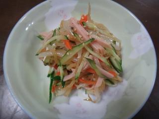 もやしの中華サラダ0828