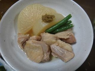 大根と鶏肉のあっさり煮0827
