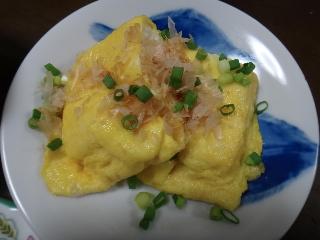 卵巻き豆腐ステーキ