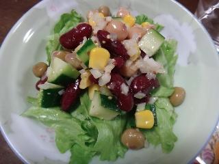 豆サラダ0907
