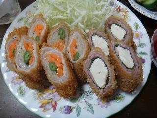野菜肉巻きフライ0927