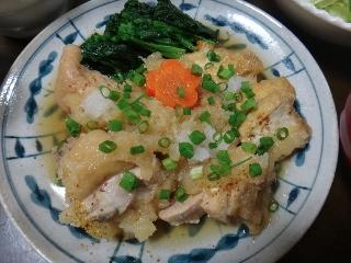 鶏肉のおろし煮1102