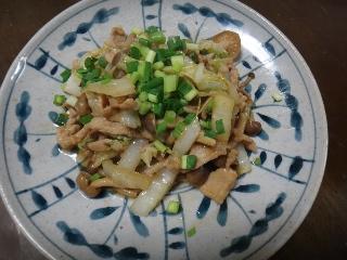 豚肉と白菜1114