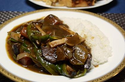 野菜たっぷりハヤシライス20131124