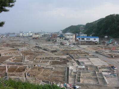 瓦礫撤去後の鍬ヶ崎 002