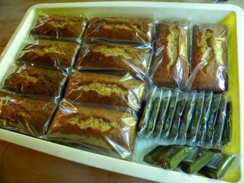 パウンドケーキとフィナンシェ
