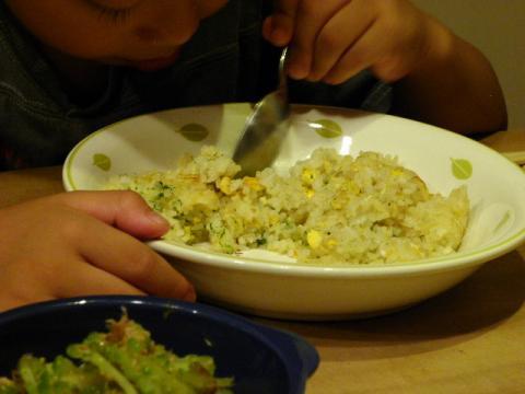 卵チャーハン