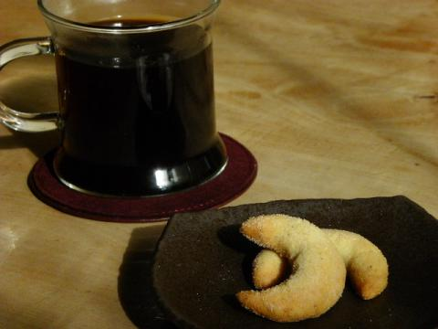 コーヒーとバニラキッフェル