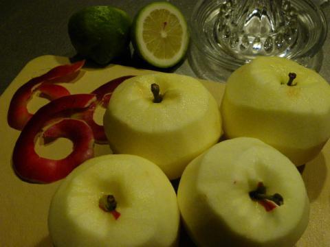 紅玉とレモン