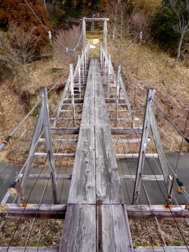 千葉山の吊橋1