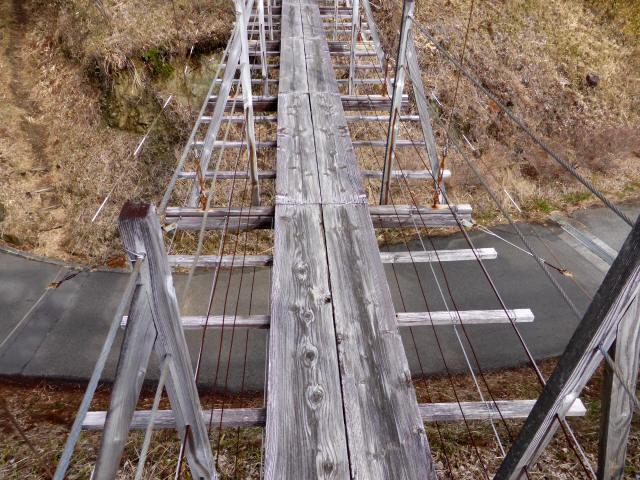 千葉山の吊橋3