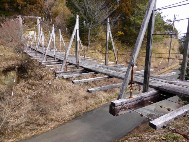 千葉山の吊橋4