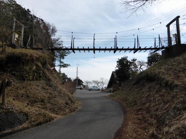千葉山の吊橋6