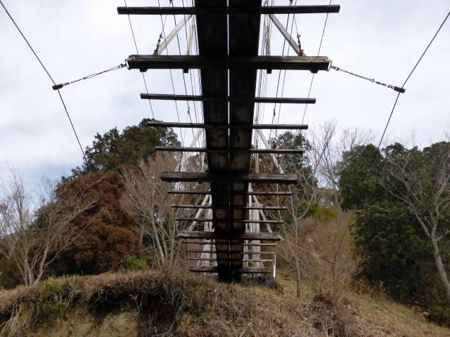 千葉山の吊橋7