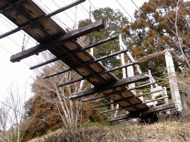 千葉山の吊橋8