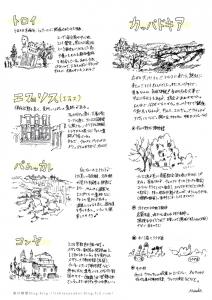 トルコ手書き地図2