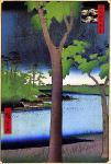 名所江戸百景の溜池