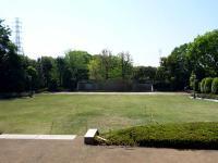 庭園と噴水