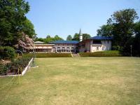 庭園と集会堂