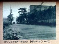 かつての鳩ヶ谷変電所前