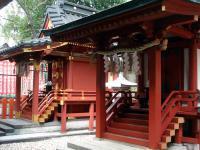 山王稲荷神社本殿と八坂神社と猿田彦神社本殿