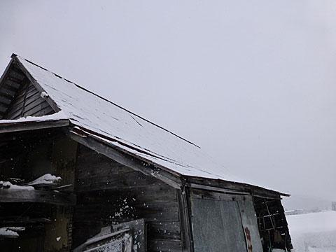 14 1/12 雪下ろし後