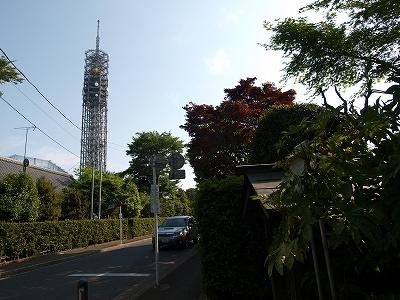 庚申塔とタワー