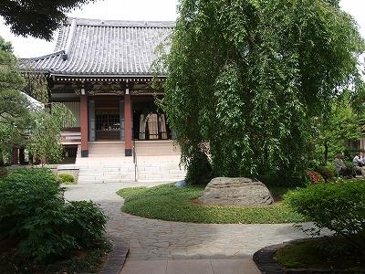 円照寺本堂