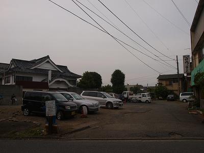 駐車場&寿司