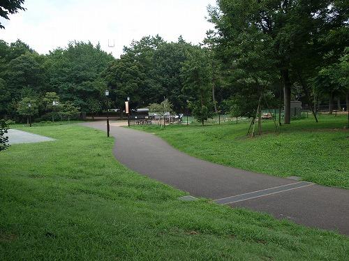 公園内傾斜