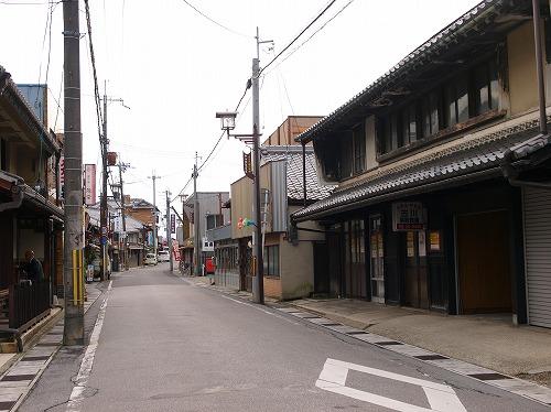 古い商店通り