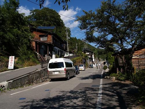 奈良井駅近くワゴン