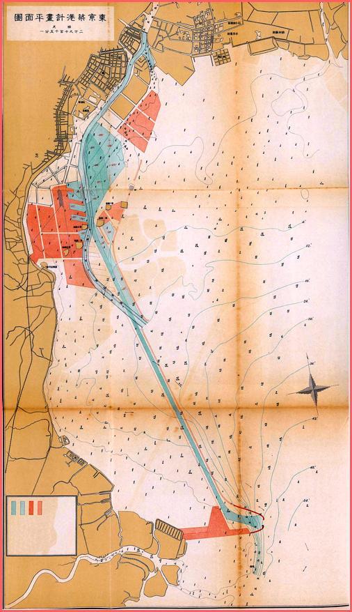 lig_東京築港計画図