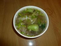 榨菜肉絲湯餛飩0117